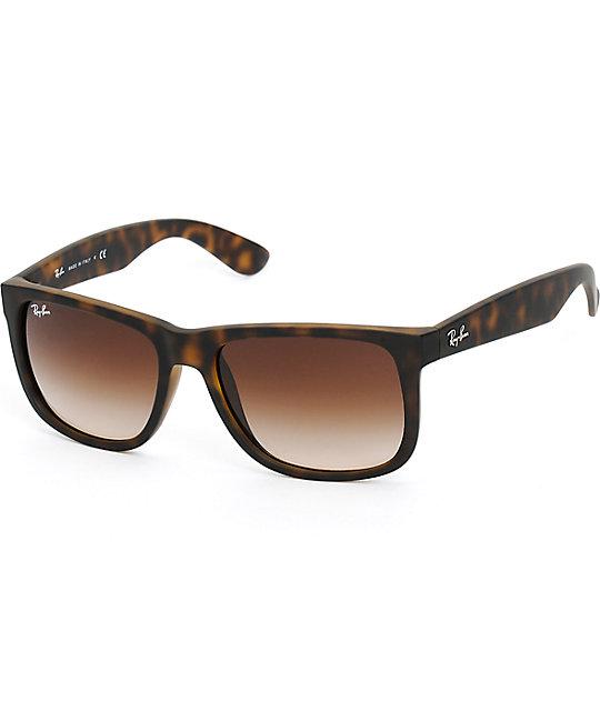 9748d876cb Ray-Ban Justin Havana Tortoise Shell Sunglasses