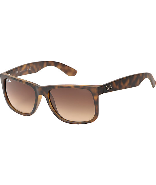 f214f8144b Ray-Ban Justin Havana Tortoise Sunglasses
