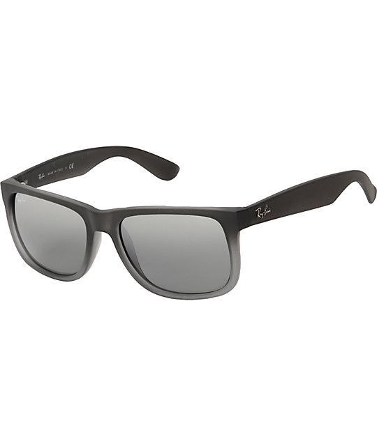 Ray Ban Justin Matte Grey Sunglasses