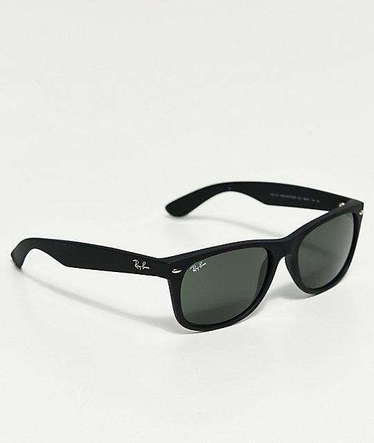 6954ced60bf ... Ray-Ban New Wayfarer Classic Matte Black Sunglasses