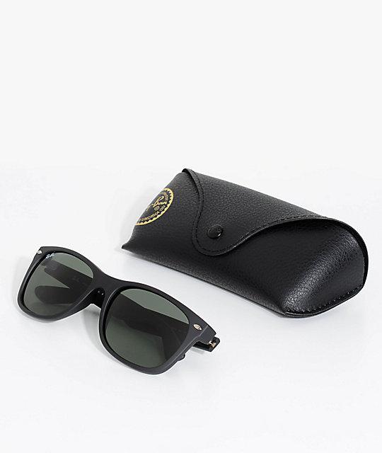 4dcc812f5c8 ... Ray-Ban New Wayfarer Classic Matte Black Sunglasses ...