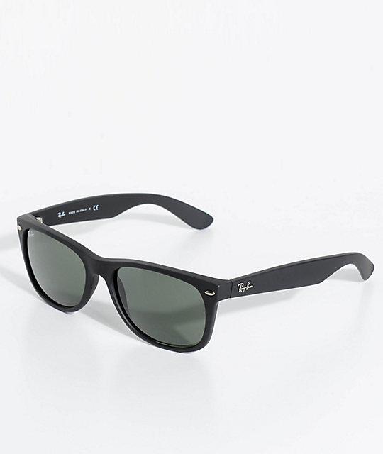Ray-Ban New Wayfarer Classic Matte Black Sunglasses  bfa37ea7f12ed