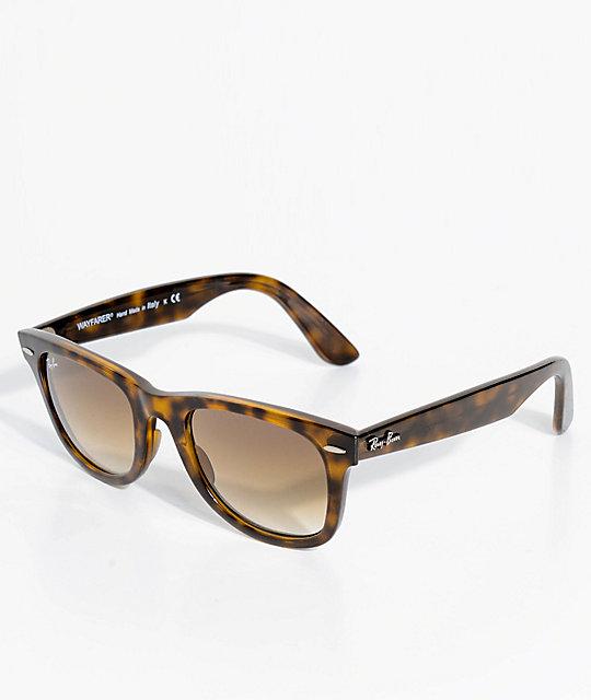 1c58d882c8 Ray-Ban No Tilt Wayfarer Tortoise Sunglasses