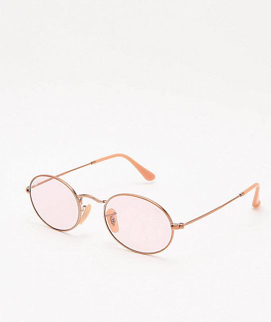 9359b81c3e4ff Ray-Ban ORB3547N Evolve Light Pink Sunglasses