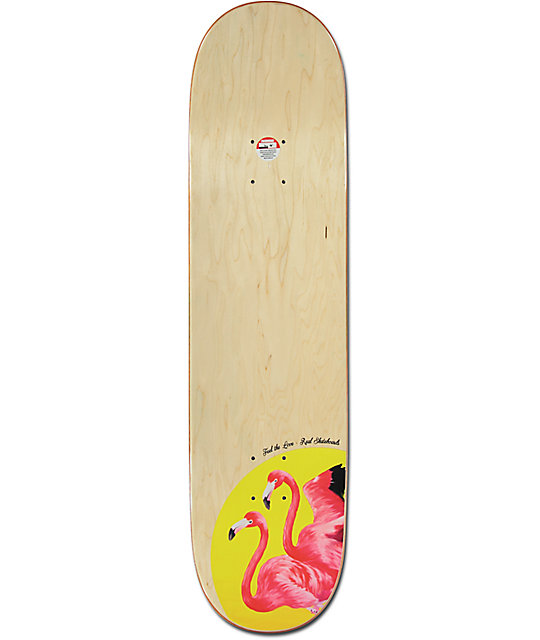 "Real Chima Feel The Love 8.25"" Skateboard Deck"