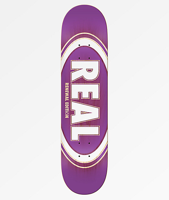 Real Oval Burst Fade 8.25