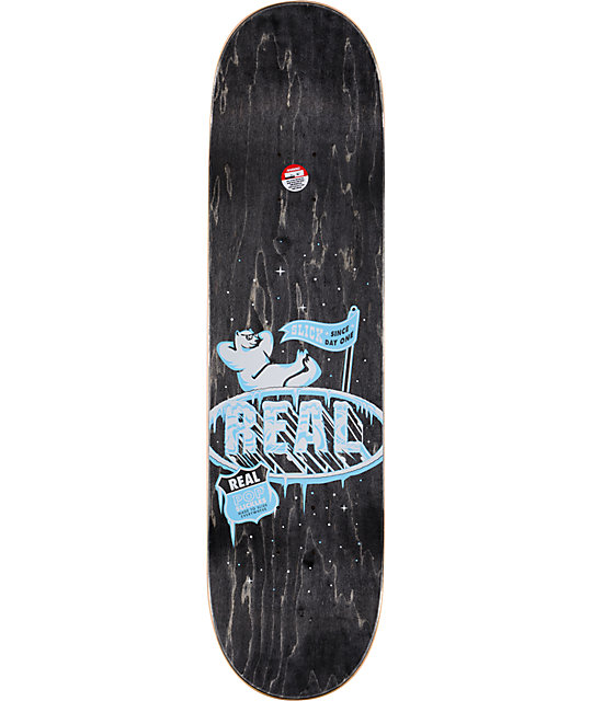 "Real Pop Slickles 8.25""  Slick Skateboard Deck"