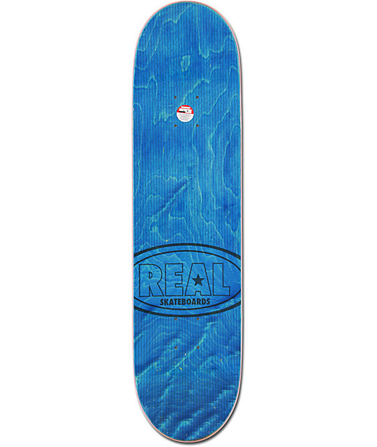 "Real Pushing All City 8.2""  Skateboard Deck"