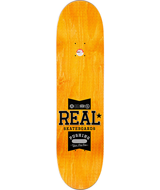 "Real Pushing Team R1 8.38""  Skateboard Deck"