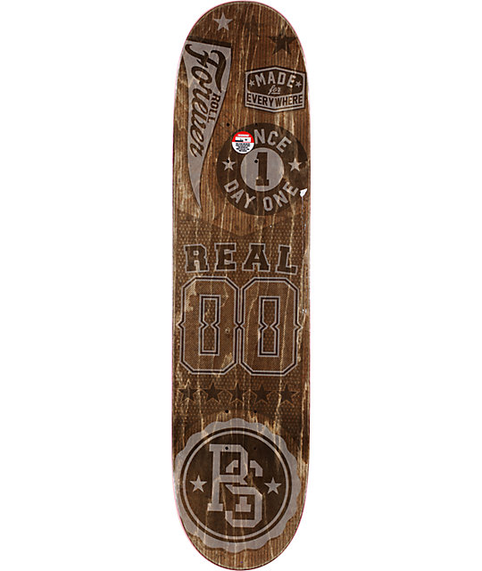 "Real Ramondetta All Stars R1 Construction 8.06""  Skateboard Deck"