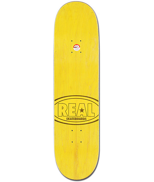 "Real Ramondetta Champion Oval 8.25""  Skateboard Deck"