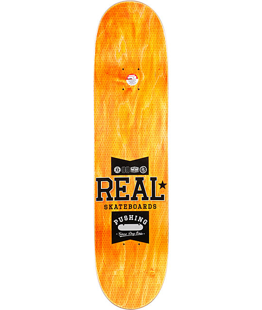 "Real Ramondetta Pushing R1 8.06""  Skateboard Deck"