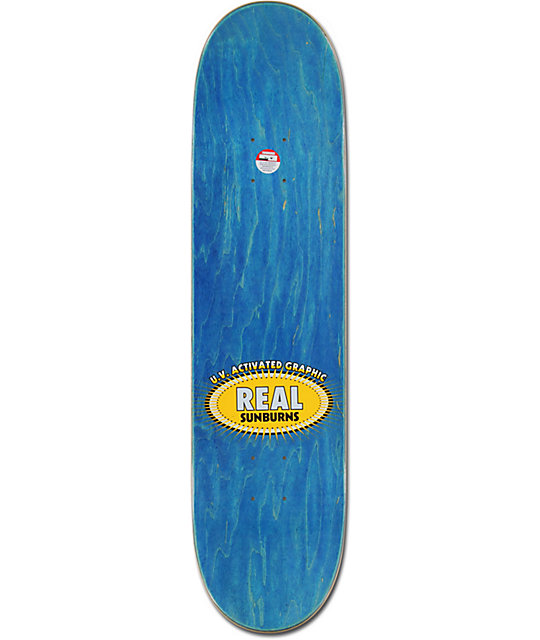 "Real Sunburn Kitten R1 Construction 8.06""  Skateboard Deck"