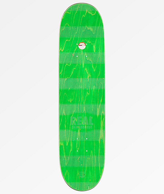 "Real Zion Floral Mellow Low Pro 8.06"" Skateboard Deck"