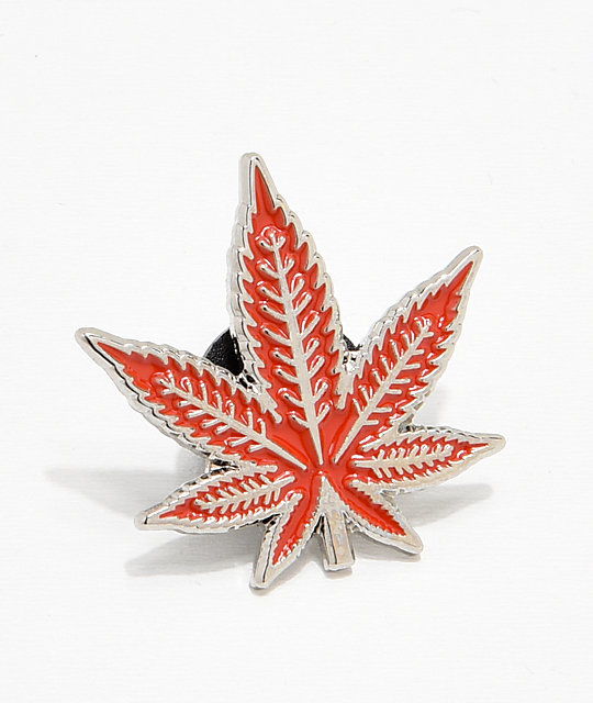 Red Leaf Pin