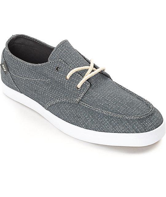 la mejor actitud 4eb5e a5cbc Reef Deck Hand 2 TX zapatos en color carbón y blanco