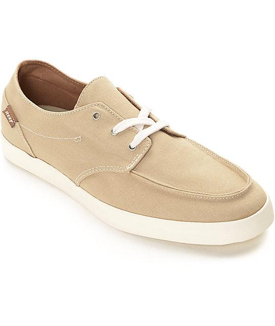 nueva llegada 3a294 9e35f Reef Deck Hand 2 zapatos en marrón claro y blanco