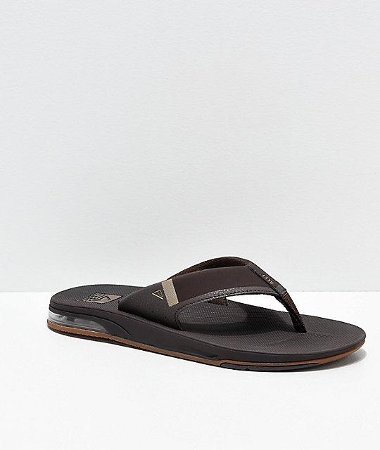 779b7ee7639 Reef Fanning 2.0 Brown   Gum Sandals