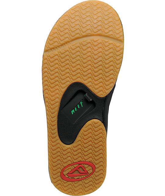 Reef Fanning Rasta Sandals