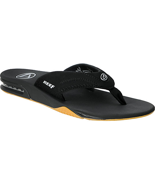 Reef Mick Fanning Black Sandals