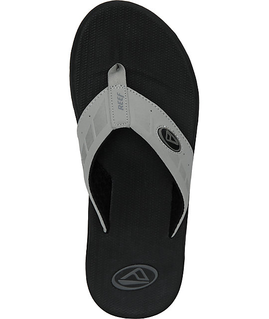 Reef Phantom Black & Grey Sandals