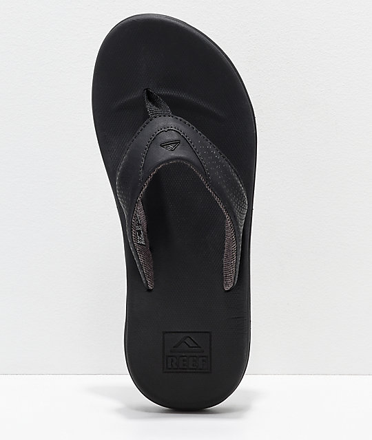 Reef Rover All Black Sandals