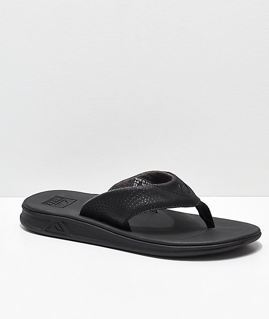 fa5b82305974dd Reef Rover All Black Sandals
