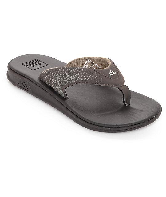 Reef Rover Brown & Gum Sandals ...