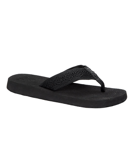 Reef Sandy Black Sandals
