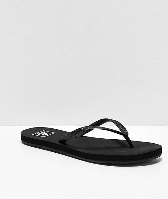 782692ef7594 Reef Stargazer Black Sandals