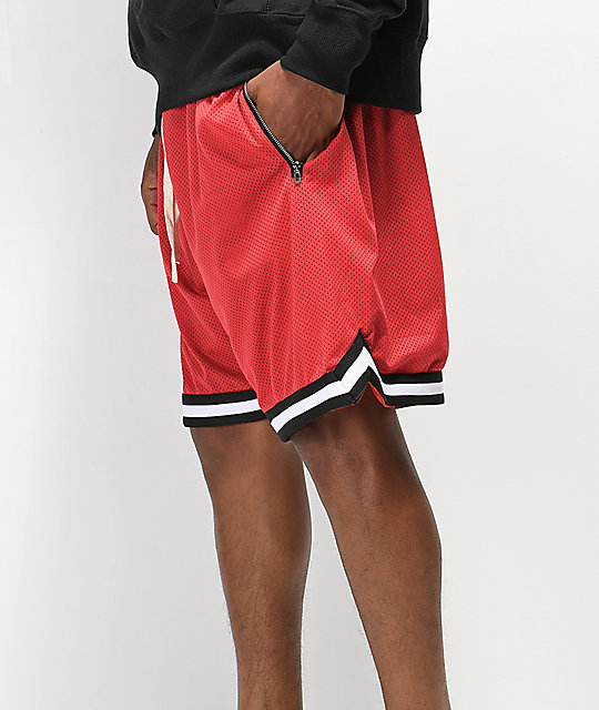 Renegade Red Basketball Shorts