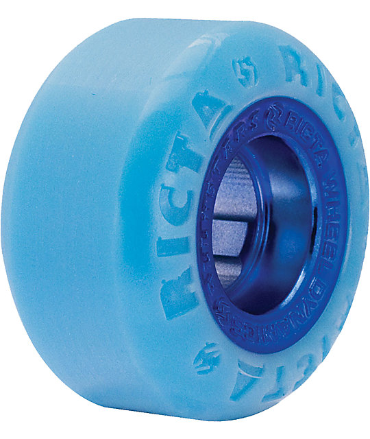Ricta All Star Blue 52mm Skateboard Wheels