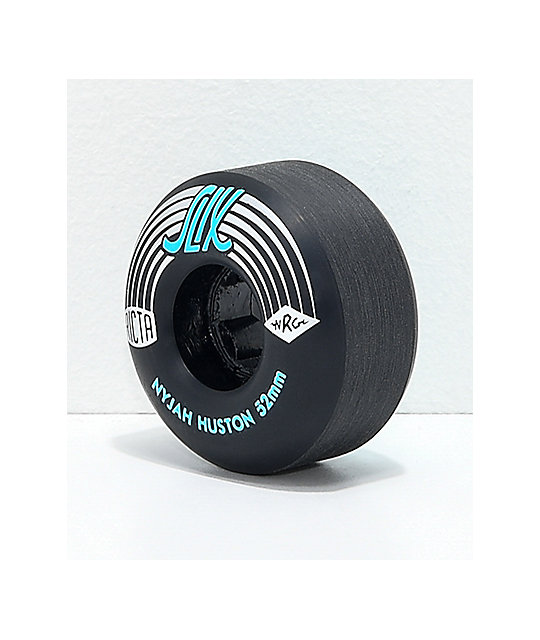 Ricta Nyjah Pro Slix 52mm 99a Black Skateboard Wheels