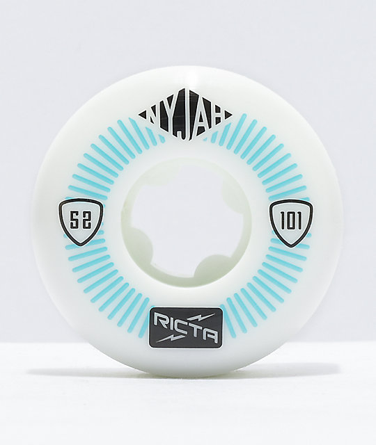 Ricta Nyjah Pro Super Slim 52mm 101a Skateboard Wheels