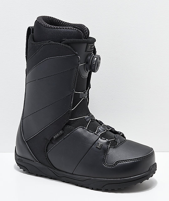 Ride Anthem Black Boa Snowboard Boots 2019