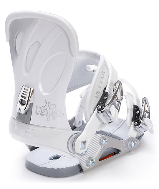 Ride DVa White Womens Snowboard Bindings