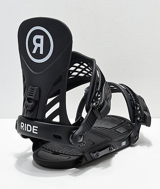 a391cde51a4c Ride EX Black Snowboard Bindings 2019