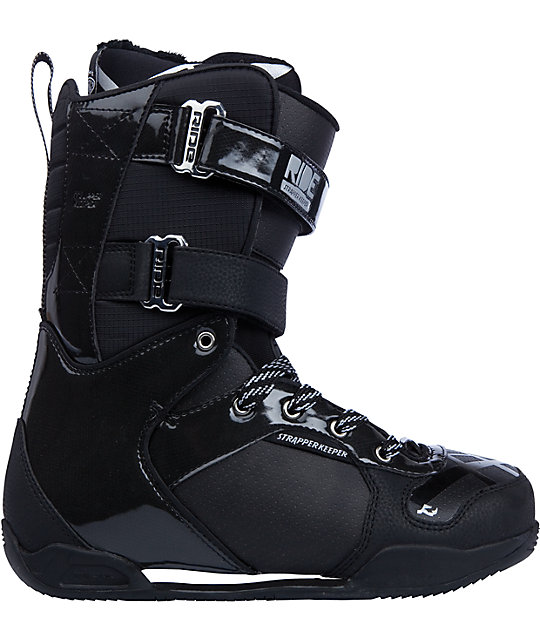 Ride Snowboards Strapper Keeper Black Snowboard Boots