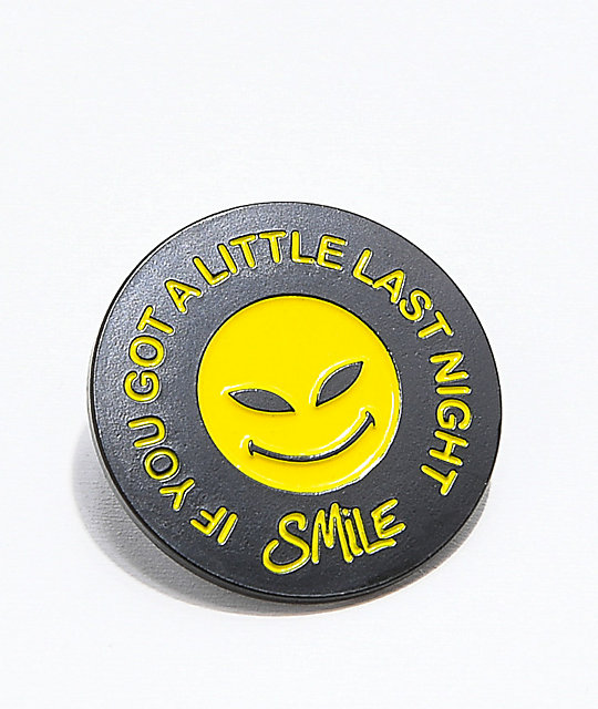 RipNDip Smile Pin