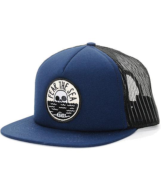 572fc7cdc81 Roark Fear The Sea Trucker Hat