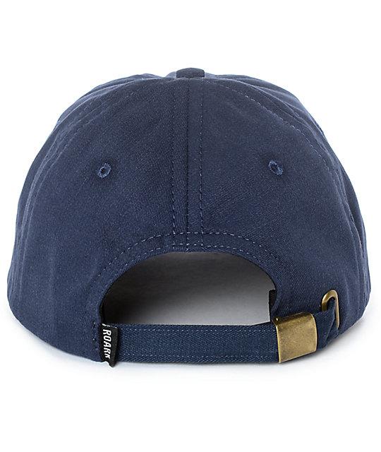 98be4ec8881f29 Roark Snake Pin Navy Dad Hat | Zumiez