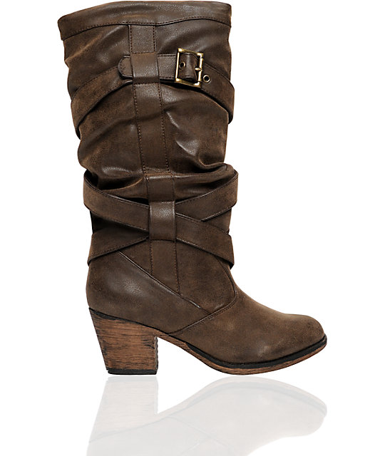 Rocket Dog Slinger Brown Boot