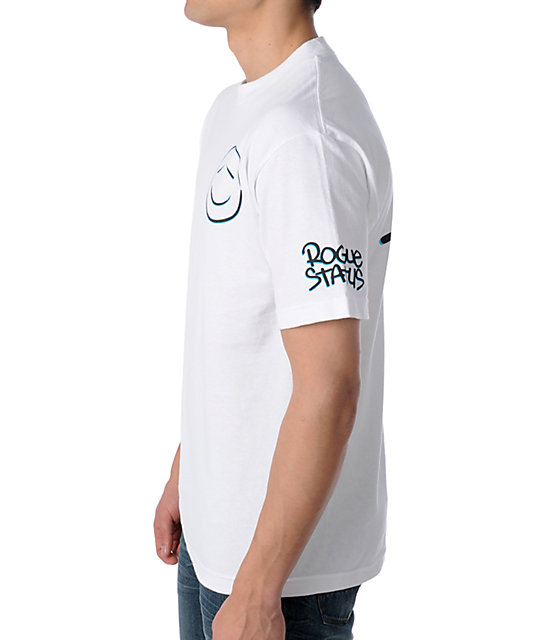 Rogue Status Smoke Bomb White T-Shirt