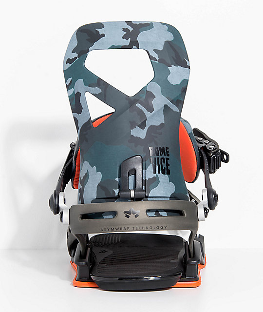 Rome Vice Camo Snowboard Bindings