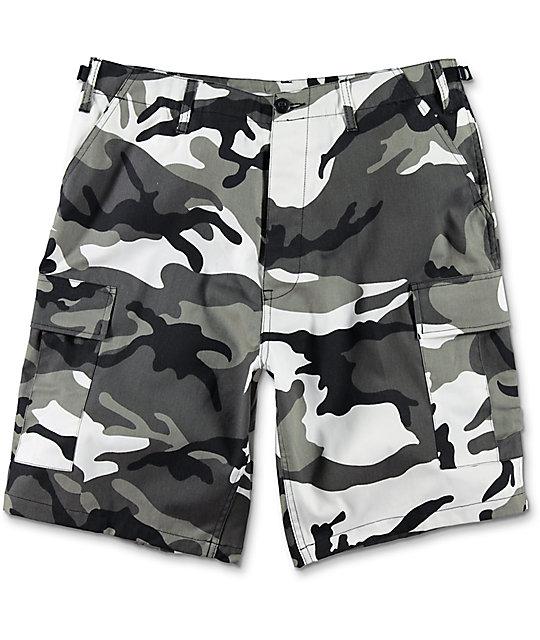 Rothco BDU City Camo Cargo Shorts  ac52ff60910