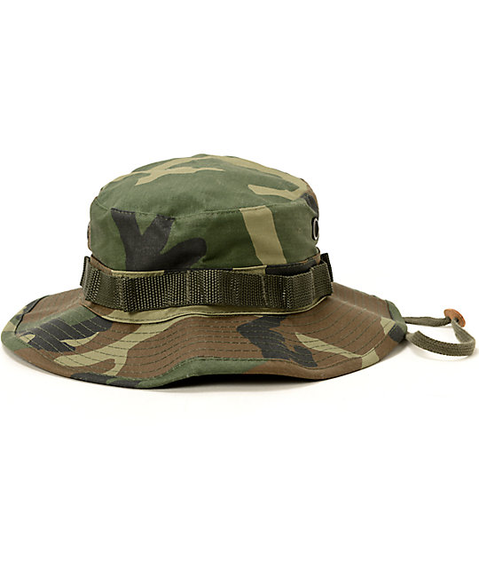 44a146c5bc009 Rothco Boonie Woodland Camo Bucket Hat