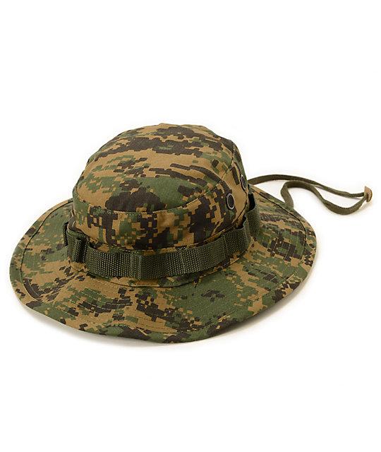 Rothco Boonie Woodland Digital Camo Bucket Hat  ef53930350b