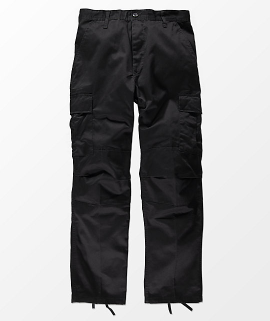 Rothco Boys Tactical Bdu Black Cargo Pants by Zumiez