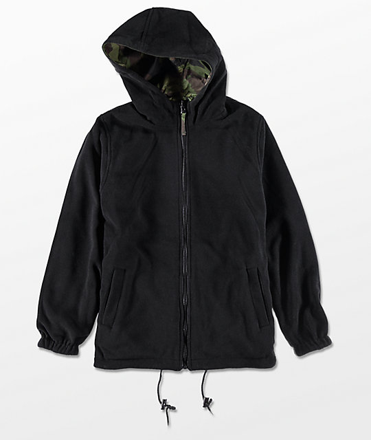 Rothco Boys Woodland Nylon Reversible Jacket