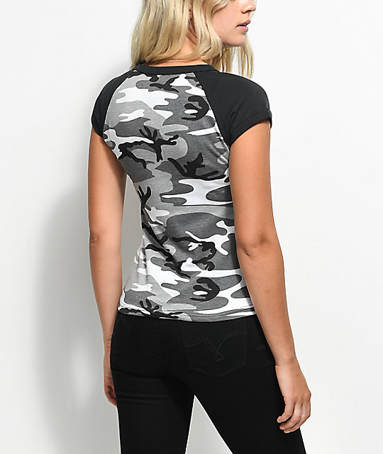 Rothco City Black & White Camo T-Shirt